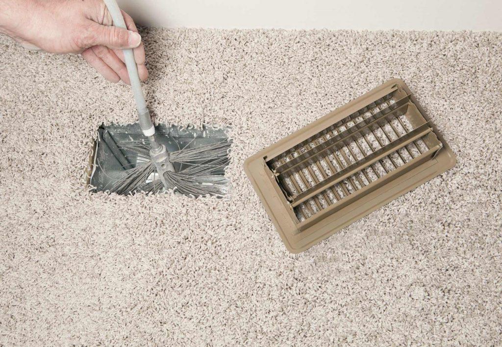 Καθαρισμός και απολύμανση αεραγωγών